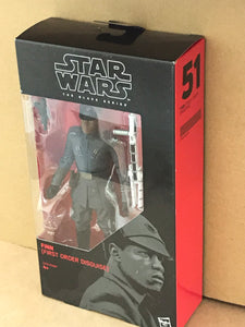 Star Wars - The Black Series No. 51 - Finn First Order Disguise- action figure