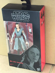 Star Wars - The Black Series No. 44 - Rey Jedi Training - action figure