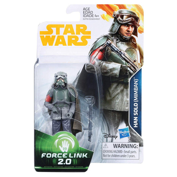 Star Wars Force Link - Han Solo Mimban - 3.75