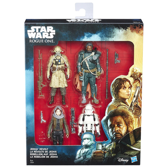 Star Wars Rogue One - Jedha Revolt 4 pack - 3.75