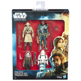 "Star Wars Rogue One - Jedha Revolt 4 pack - 3.75"" action figures"