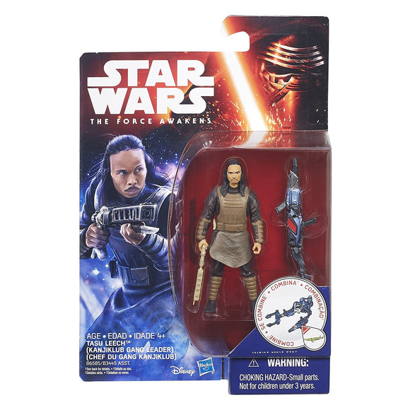 Star Wars Force Awakens - Kanjiklub Gang Leader Tasu Leech - 3.75
