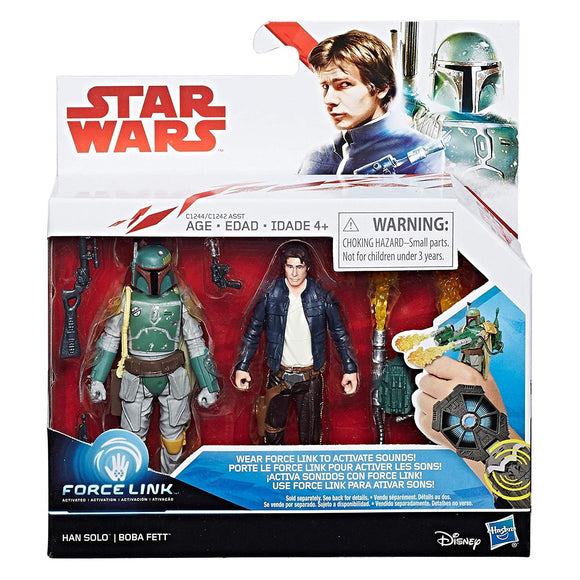 Star Wars - The Last Jedi - Boba Fett and Han Solo Action Figure 2 Pack
