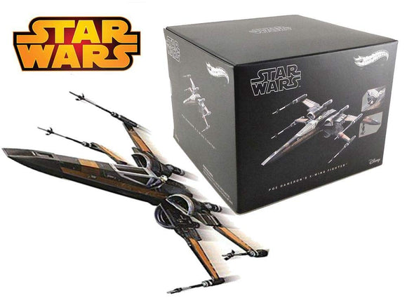 HOT WHEELS ELITE DIECAST - Poe Dameron's X-Wing Fighter