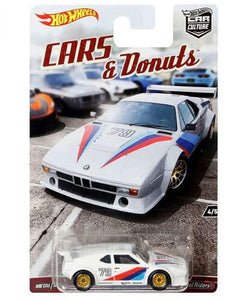 HOT WHEELS DIECAST - Car Culture Cars and Donuts BMW M1 Procar