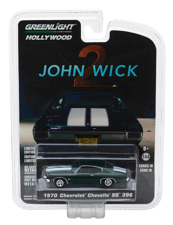 Greenlight Hollywood Diecast - 1970 Chevrolet Chevelle SS 396