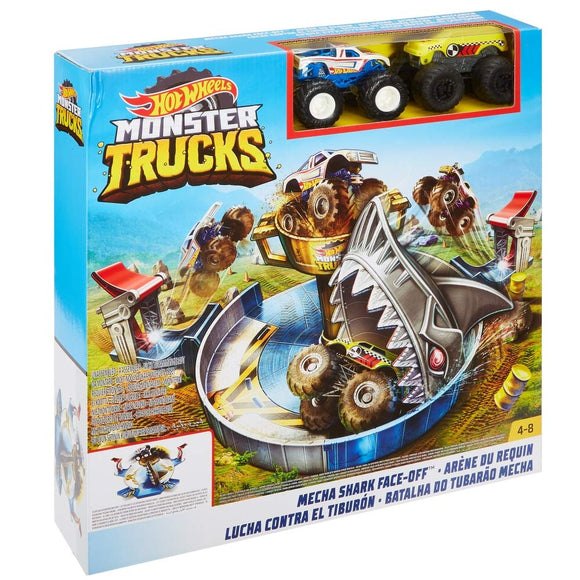 HOT WHEELS MONSTER TRUCKS - Mecha Shark Face Off