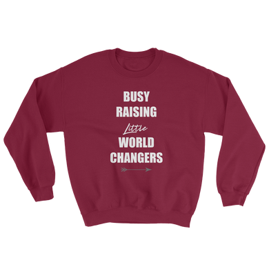 Busy Raising Little World Changers Sweatshirt