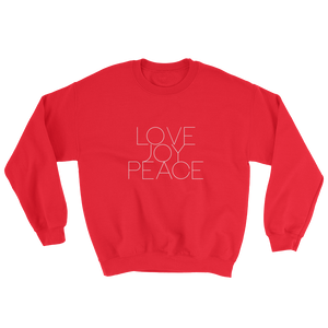 LOVE JOY PEACE Sweatshirt