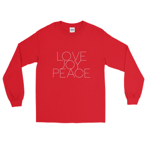 LOVE JOY PEACE Long Sleeve T-shirt