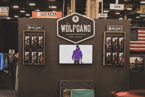 The Wolfgang trade show booth