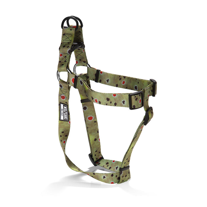 BrownTrout COMFORT DOG HARNESS Made in the USA by Wolfgang Man & Beast