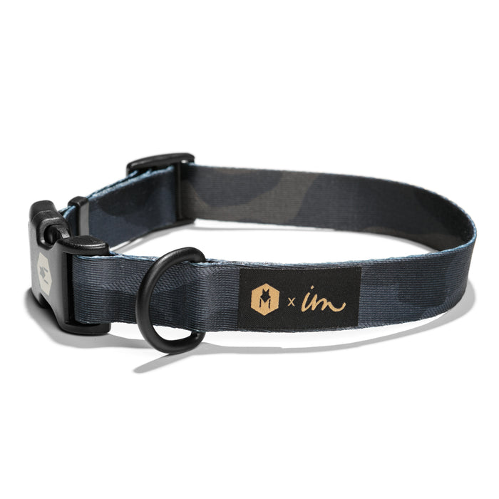 DarkCamo DOG COLLAR Made in the USA by Wolfgang Man & Beast