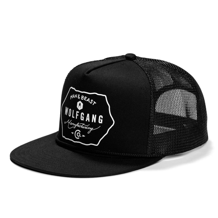 BlackLabel SNAPBACK TRUCKER HAT Made in the USA by Wolfgang Man & Beast