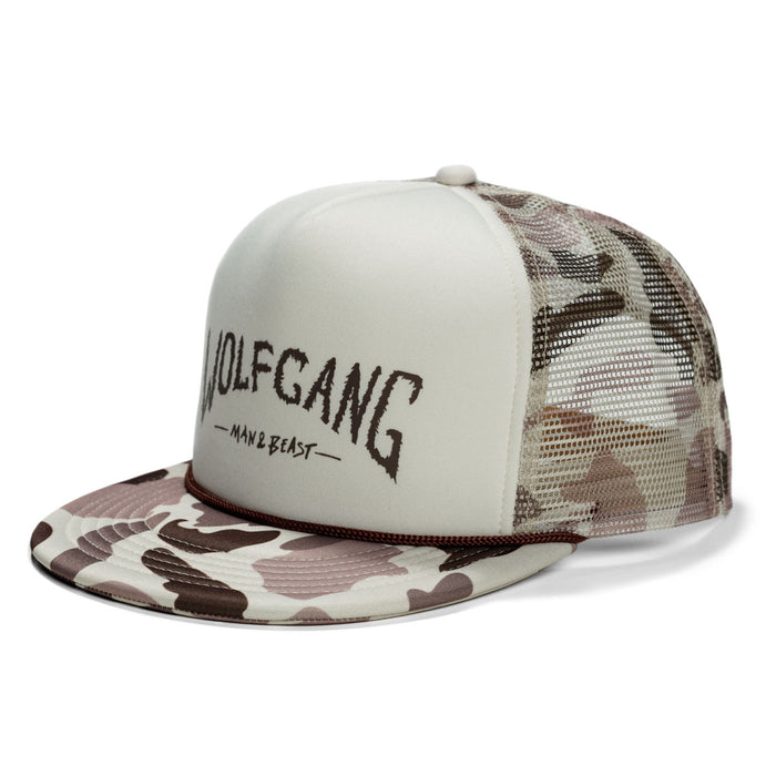 CamoCreature SNAPBACK TRUCKER HAT Made in the USA by Wolfgang Man & Beast