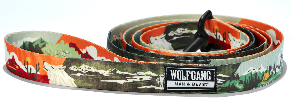 OldFrontier DOG LEASH Made in the USA by Wolfgang Man & Beast