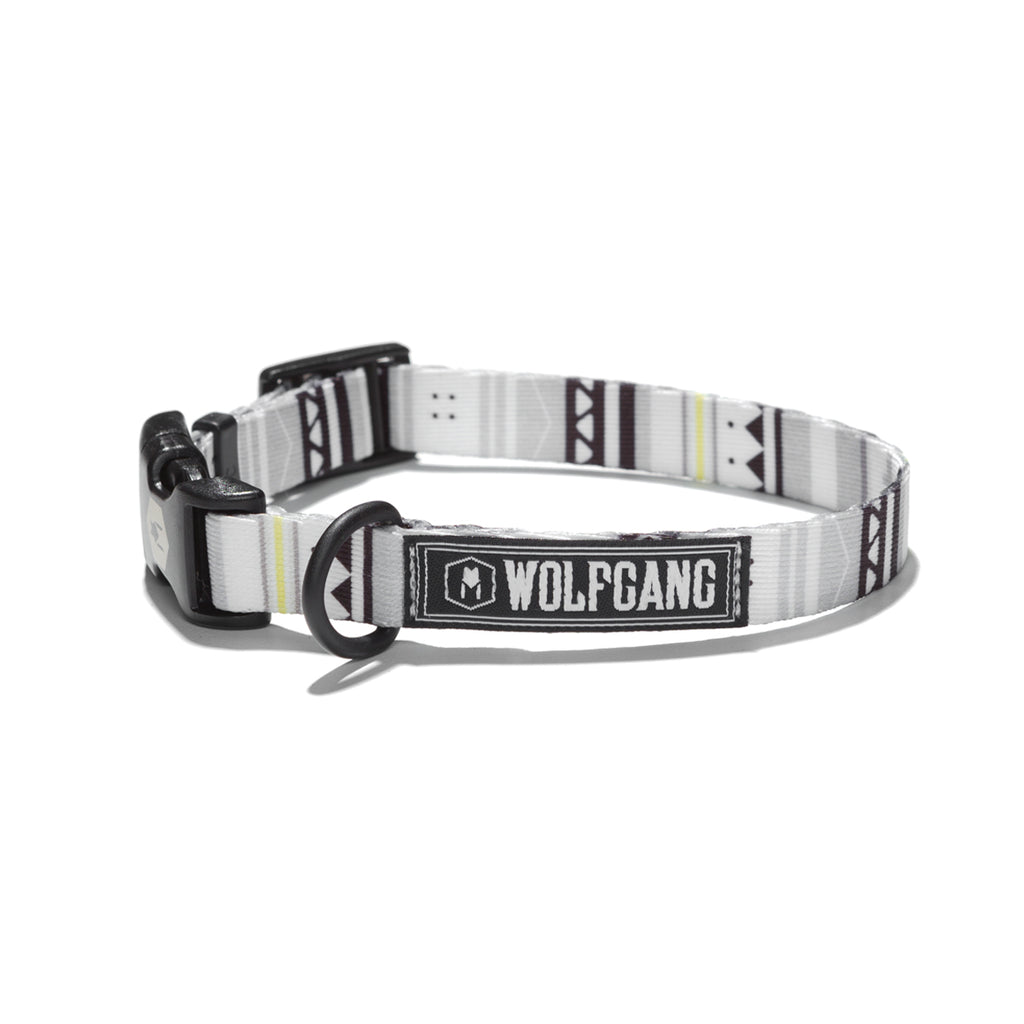 WhiteOwl DOG COLLAR Made in the USA by Wolfgang Man & Beast