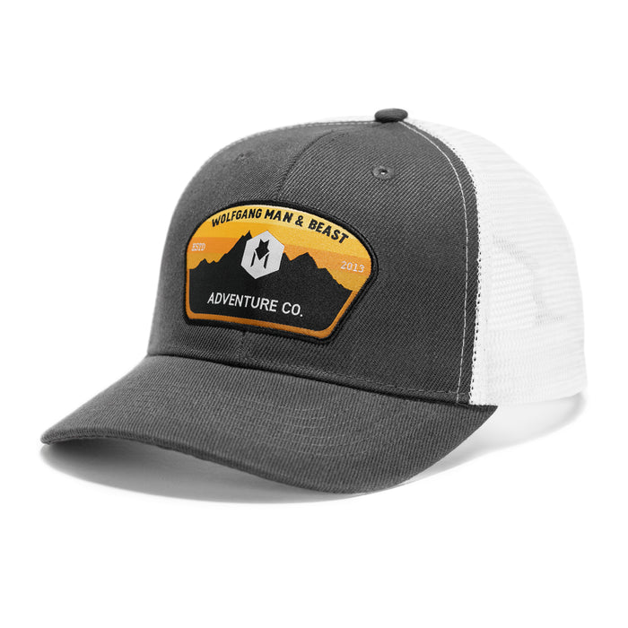 Adventure Co. CURVED-BRIM TRUCKER HAT-Wolfgang Man & Beast