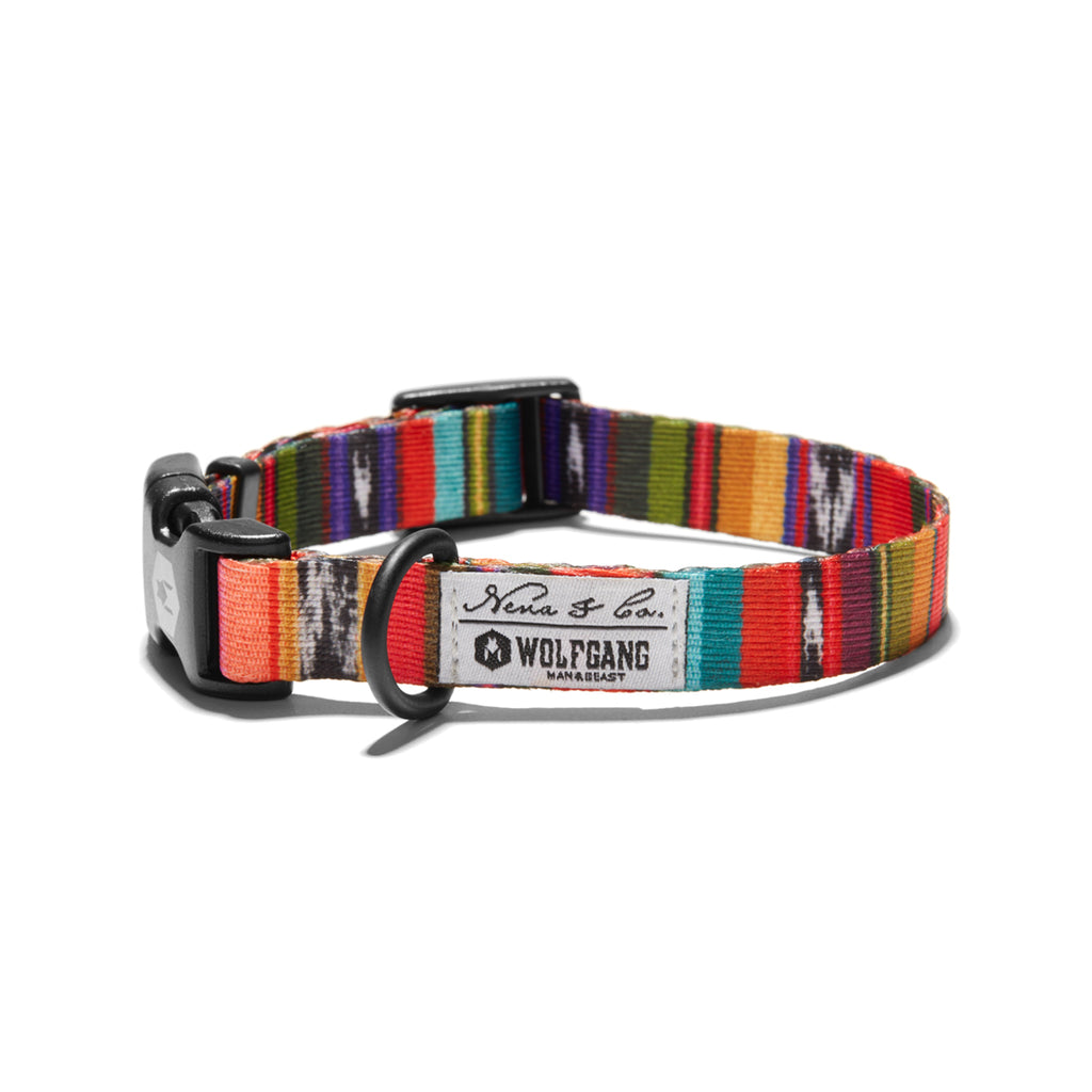 Antigua DOG COLLAR Made in the USA by Wolfgang Man & Beast