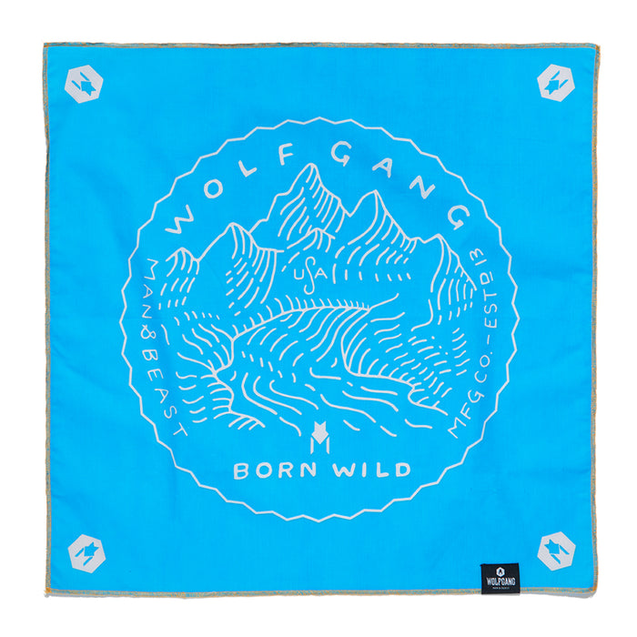 BornWild BANDANA Made in the USA by Wolfgang Man & Beast