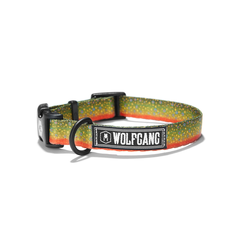BrookTrout DOG COLLAR Made in the USA by Wolfgang Man & Beast