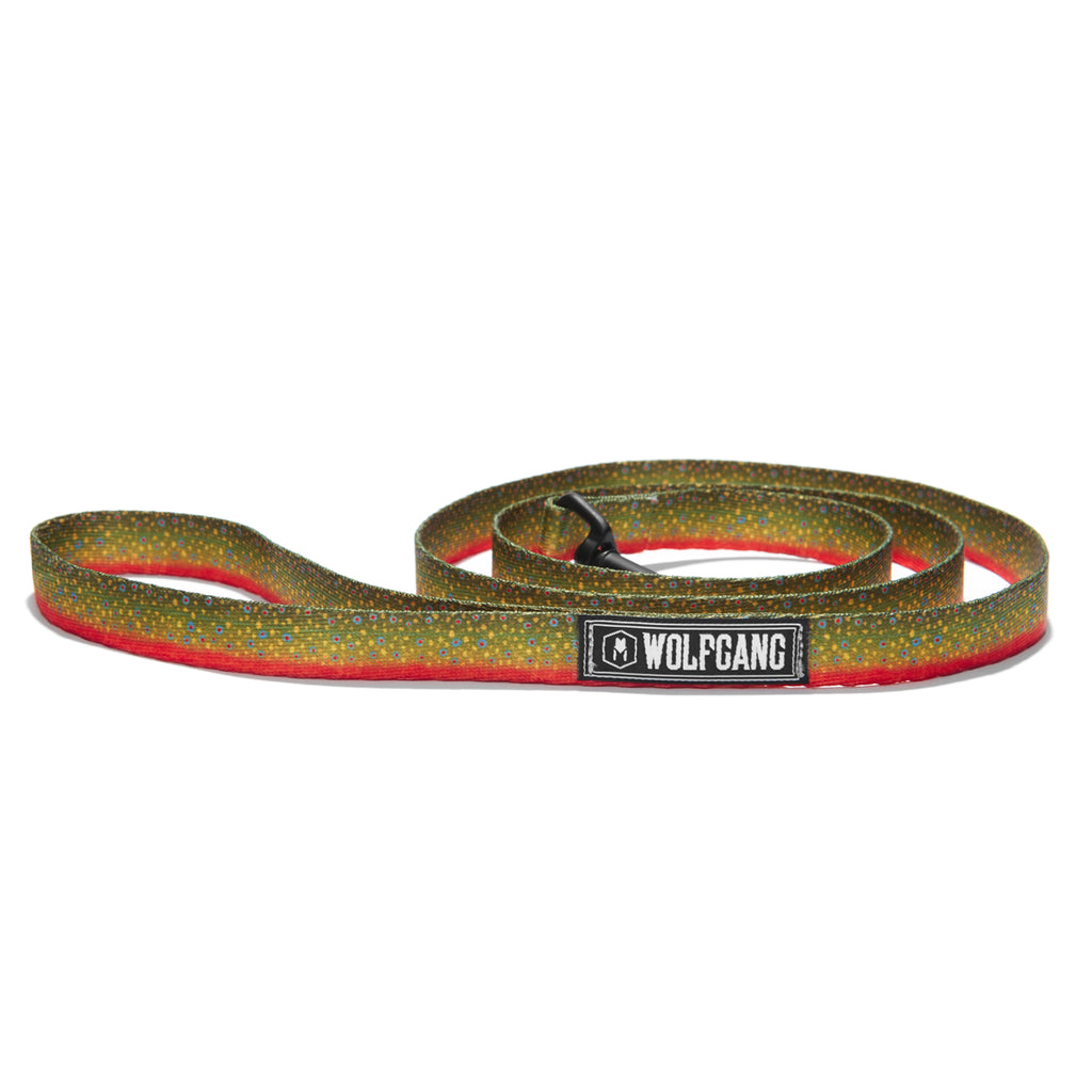 BrookTrout DOG LEASH Made in the USA by Wolfgang Man & Beast
