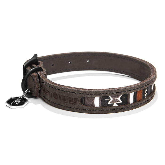 LokiLeather DOG COLLAR Made in the USA by Wolfgang Man & Beast