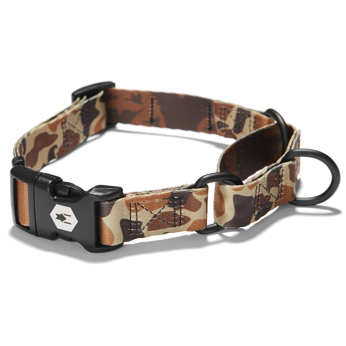 DuckBlind MARTINGALE DOG COLLAR Made in the USA by Wolfgang Man & Beast
