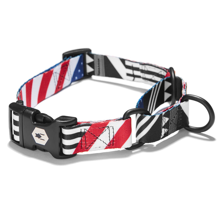 PledgeAllegiance MARTINGALE DOG COLLAR Made in the USA by Wolfgang Man & Beast