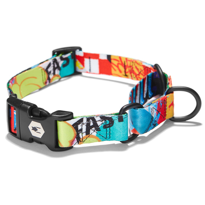 StreetArt MARTINGALE DOG COLLAR Made in the USA by Wolfgang Man & Beast