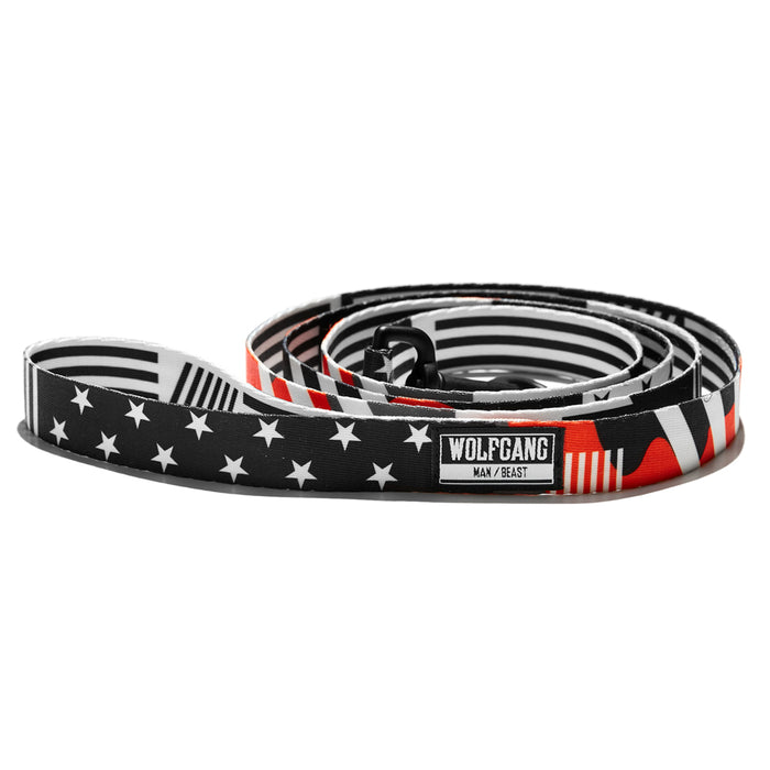 MultiNational DOG LEASH Made in the USA by Wolfgang Man & Beast