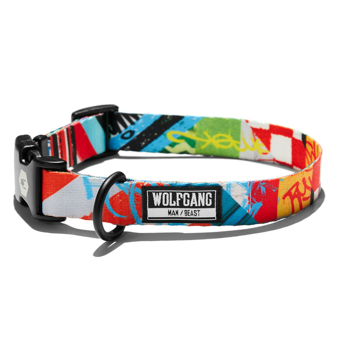 StreetArt DOG COLLAR Made in the USA by Wolfgang Man & Beast