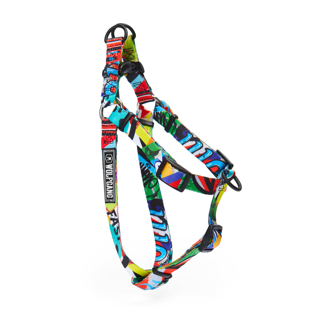 StreetArt COMFORT DOG HARNESS Made in the USA by Wolfgang Man & Beast