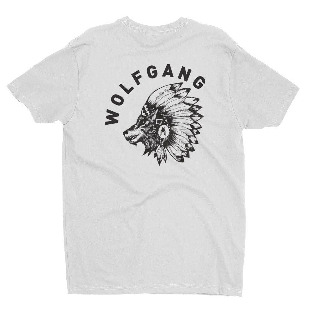Chief SHORT SLEEVE MEN'S T-SHIRT Made in the USA by Wolfgang Man & Beast