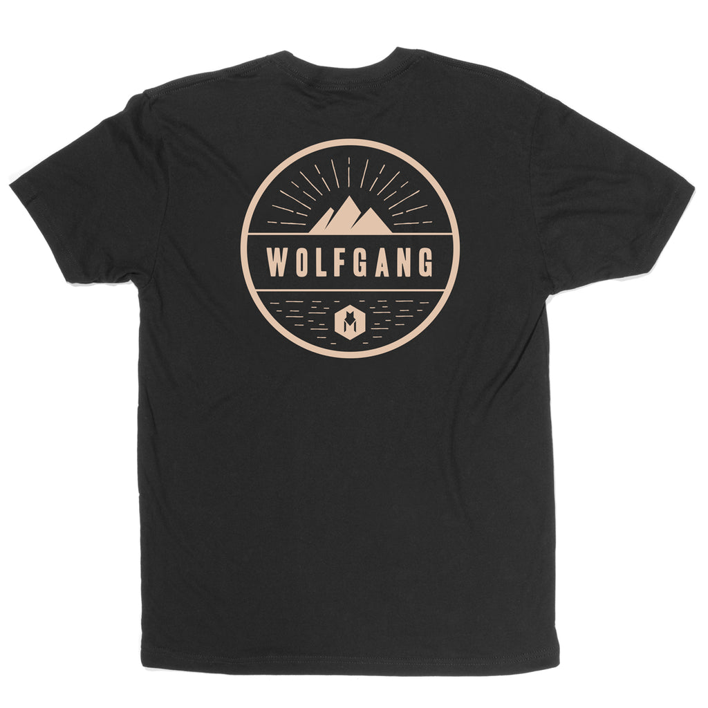 Rise SHORT SLEEVE MEN'S T-SHIRT Made in the USA by Wolfgang Man & Beast