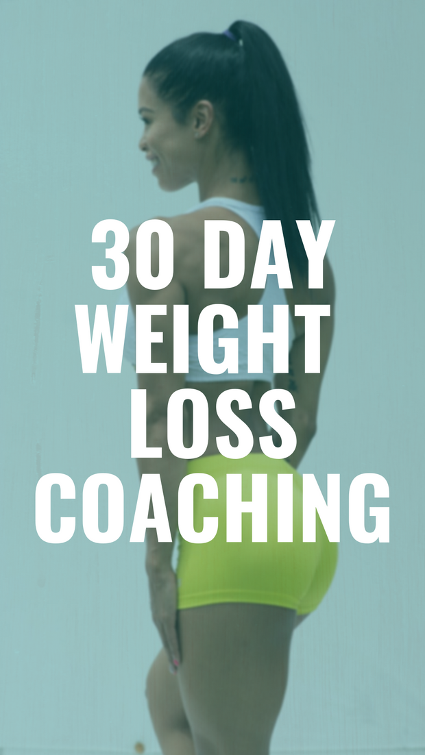 30 Day Weight Loss Coaching
