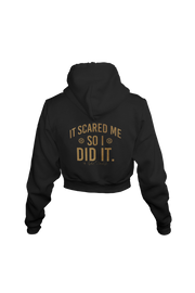 So I Did It - Cropped Hoodie