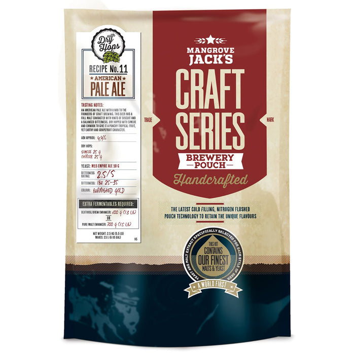 Mangrove Jack's Craft Series Brew Pouch - American Pale Ale + Dry Hops