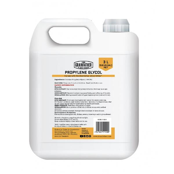 Grainfather Conical - Propylene Glycol (3 Liter 98% Purity)