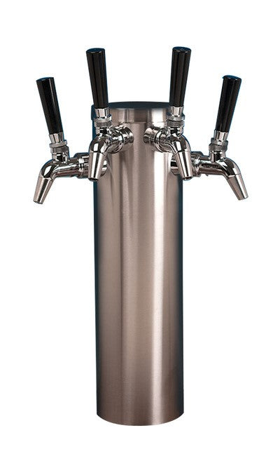 Tap - Quadruple SS Tower with Stainless Steel Intertap Gen 2