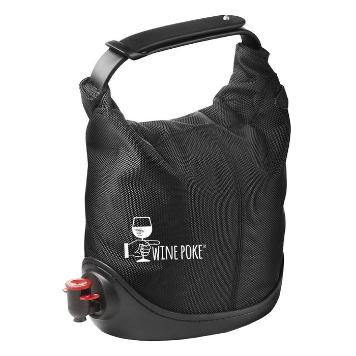 Wine Poke - Wine Dispenser Bag (Black)