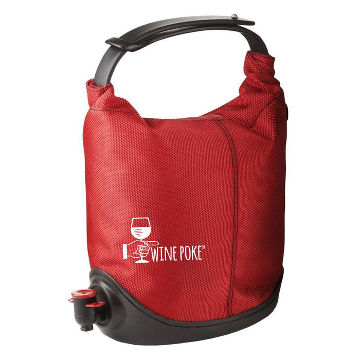 Wine Poke - Wine Dispenser Bag (Red)