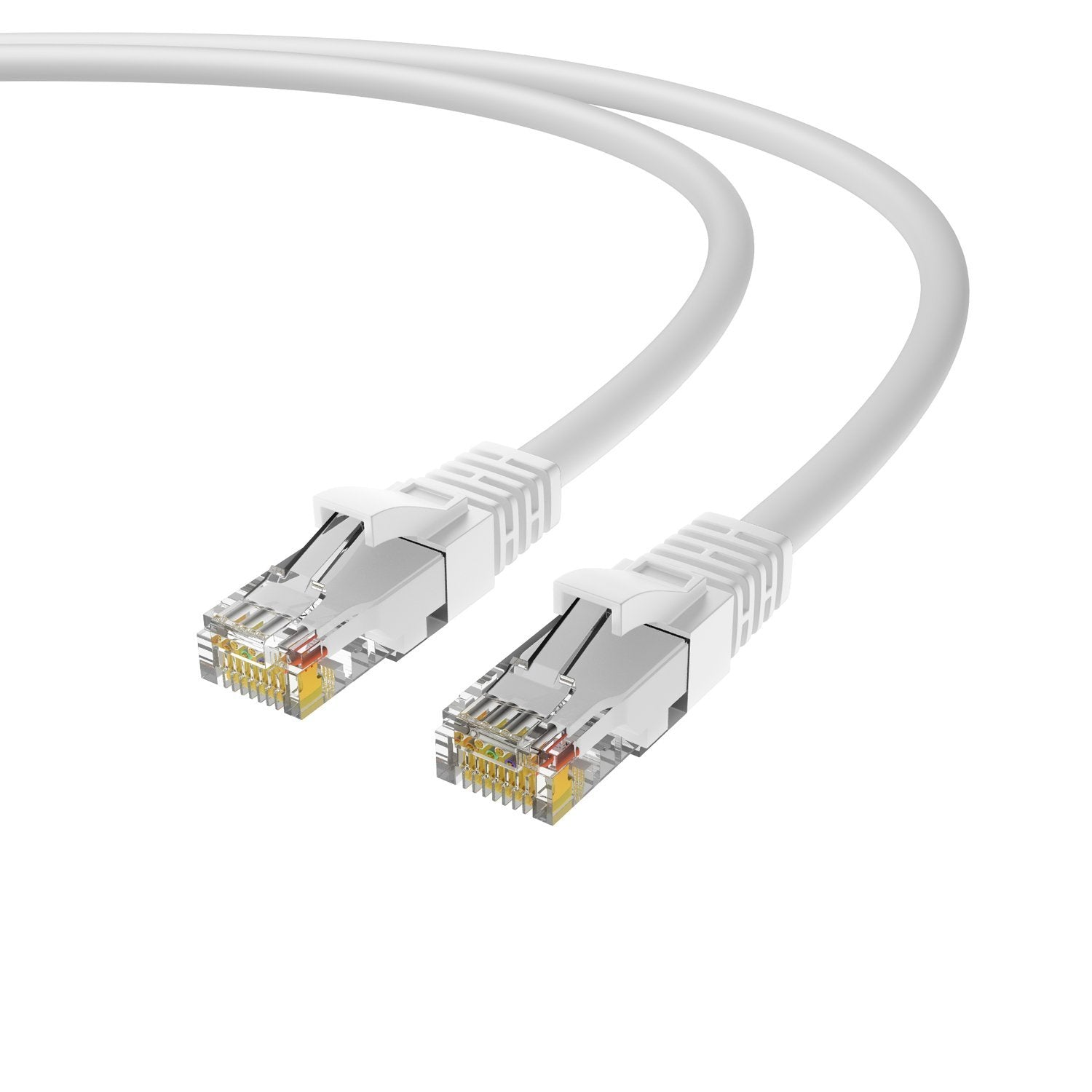 Ethernet Cable 7 Feet Karmashares Llc Leveraging Cryptocurrency Cables Cat5e Gray Patch Snagless Molded Boot 75 Foot Cat6 Cord 5 Pack Internet Rj45 Gigabit Cat6e