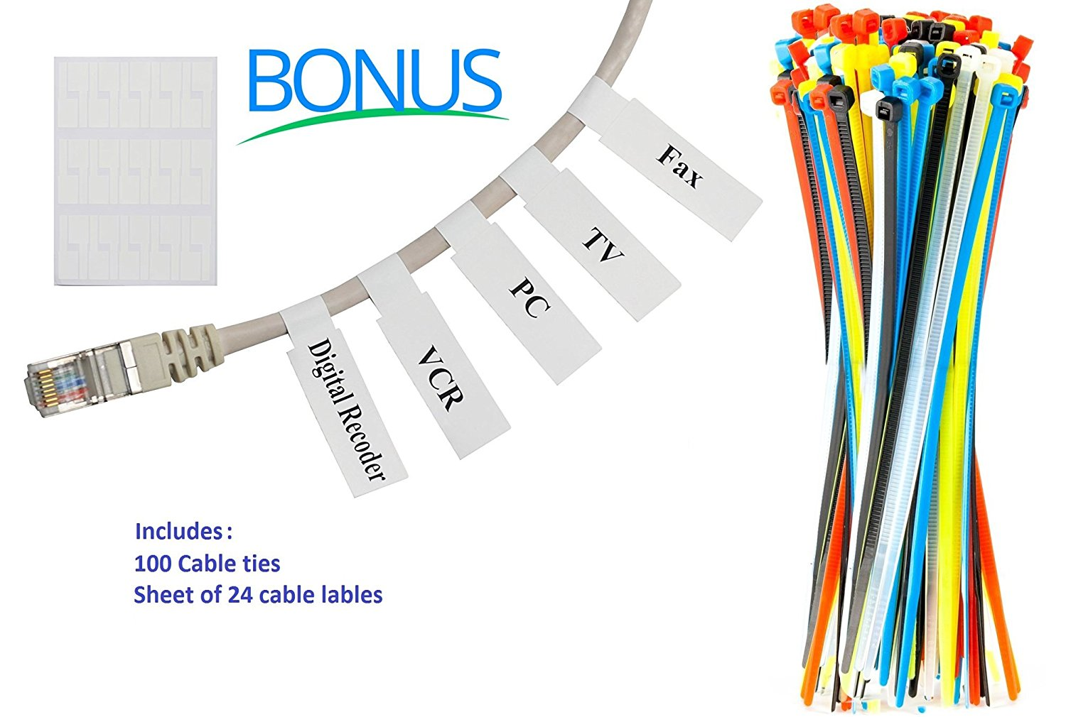 Cat6 Ethernet Snagless Cable 4 Feet Internet 5 Pack Multi Rj45 Jack Wiring Color With