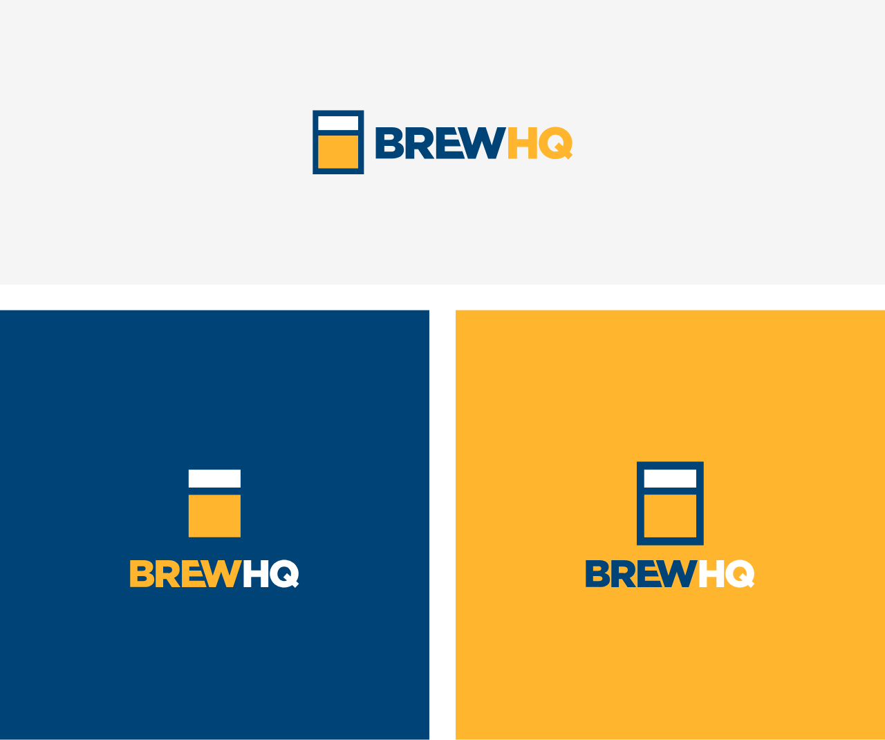 The BrewHQ Brand