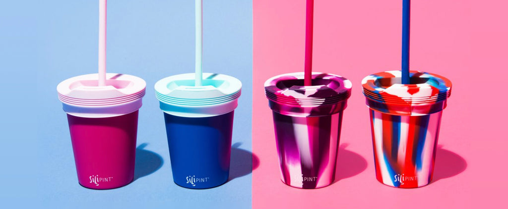 Silipint offers an assortment unbreakable, reusable, recyclable, eco-friendly drinkware.
