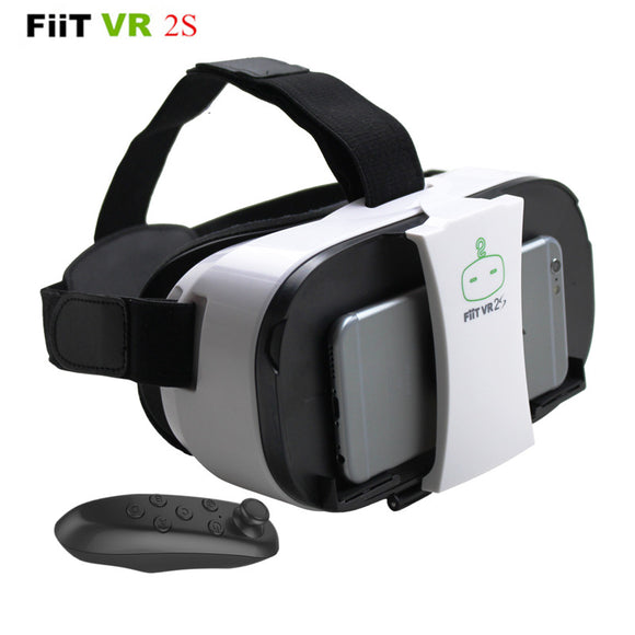 FiiT VR 2S Head Mount 3 D Cardboard Virtual Reality Goggles
