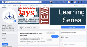 VENDOR LEARNING SERIES: FACEBOOK BUSINESS PAGE