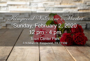 Next Market: Sunday, February 2, 2020 - Kingwood Market