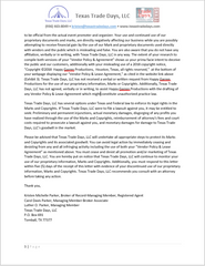 Happy Garren Productions Cease and Desist Letter page 3